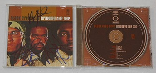 The Black Eyed Peas Bridging The Gap Group Signed Autographed Music Cd Compact Disc Loa (Blu Ray Eyed Black Peas)