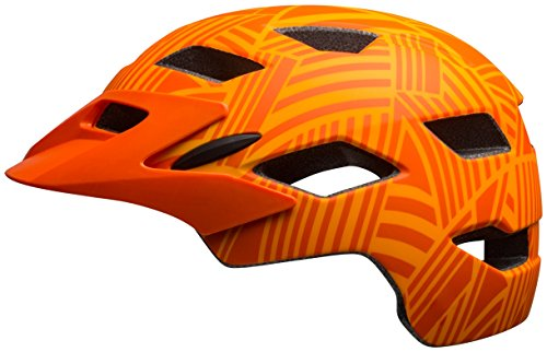 Bell Sidetrack Youth Bike Helmet - Kid's Matte Tang/Orange Seeker