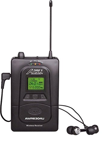- Audio2000'S AWR6305U5 Wireless Receiver for in-Ear Monitoring System