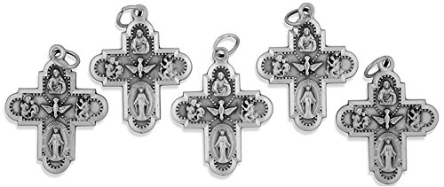 (Traditional Catholic Four-Way Medal - Pack of 10)