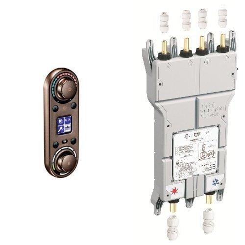 Iodigital Shower Faucet (Moen TS3420ORB-S3384 Moen vertical spa digital Control with Valve, Oil Rubbed Bronze)