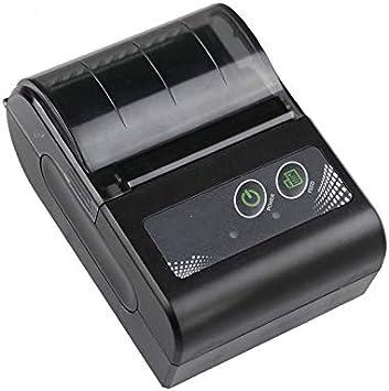 SHIJING Impresora térmica portátil Recibo Bill 58mm Mini Impresora ...