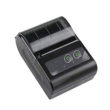 SHIJING Impresora térmica portátil Recibo Bill 58mm Mini ...