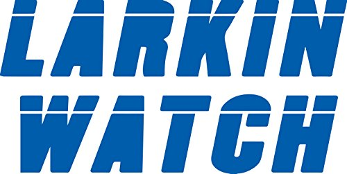 Larkin Watch Black Critical Role Fan (AZURE BLUE) (set of 2) Premium Waterproof Vinyl Decal Stickers for Laptop Phone Accessory Helmet Car Window Bumper Mug Tuber Cup Door Wall Decoration ()