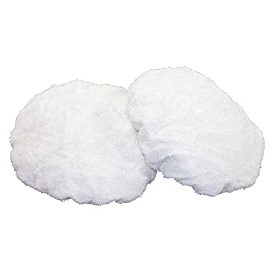 WEN 6010A42 Terry Cloth Polishing Bonnets, 6-Inch, 2-Pack: Home Improvement