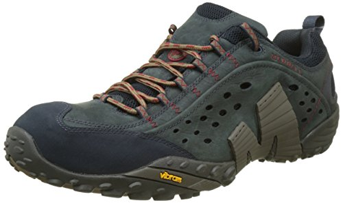 Accented Tall Fashion - Merrell Men's Intercept Fashion Sneaker (9, Blue Wing)