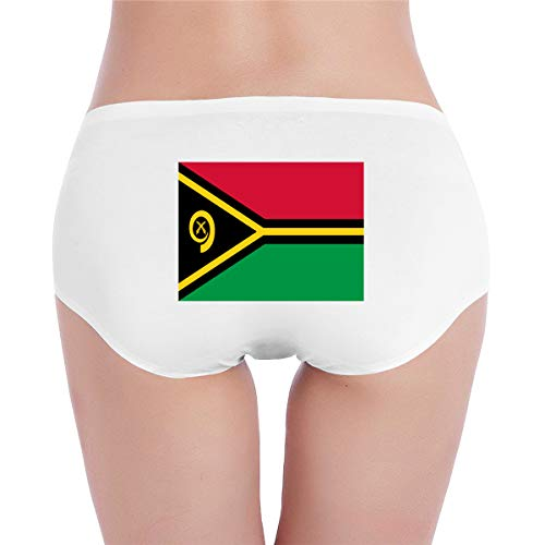 MAMAC Flag of Vanuatu Panty Cotton Underwear Ladies' Bikini Sexy Low-Rise Soft Briefs
