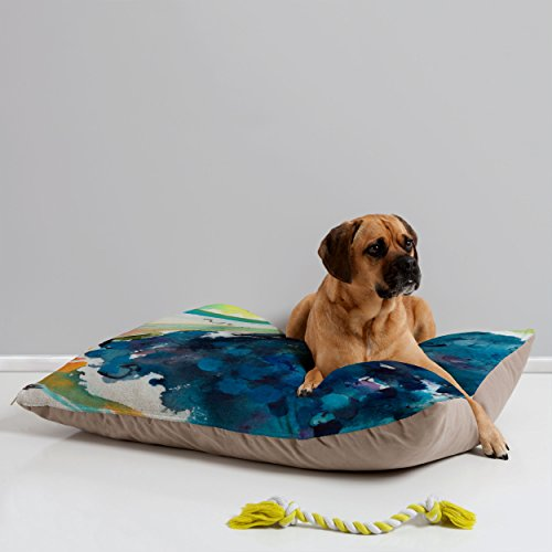 Deny Designs Ginette Fine Art Blueberries Pet Bed, 40 by 30-Inch by Deny Designs