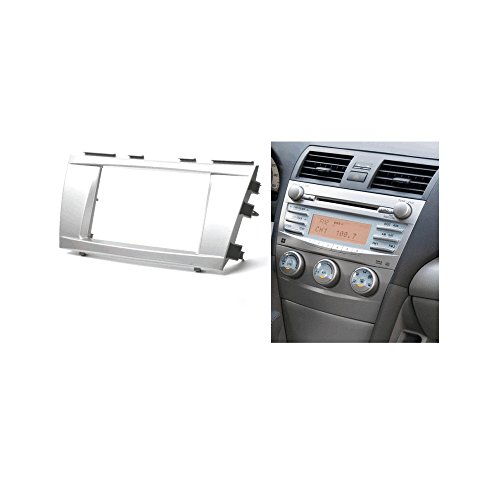 Autostereo Car Radio Stereo Panel Plate Fascia For TOYOTA Camry 2006-2011 Car Radio fascia Facia Panel TOYOTA Camry Dash CD Trim Installation Kit by Autostereo (Image #1)