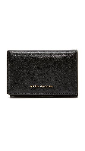Marc Jacobs Women's Multi Wallet, Black/Berry, One Size by Marc Jacobs