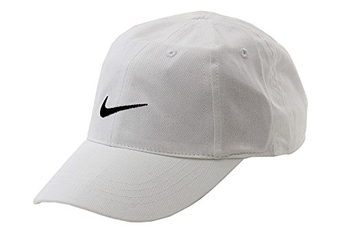 Nike Youths Embroidered Swoosh Logo Cotton Baseball Cap SZ 4
