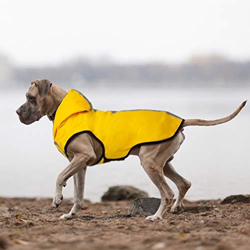 (FairyMe Dog Raincoat Yellow)