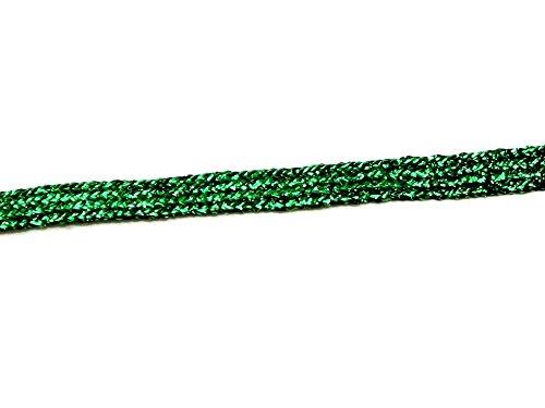 per 3 metres Minerva Crafts Flat Lurex Braid Trimming