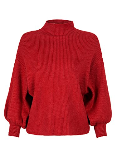 PERSUN Womens Turtleneck Pullover Sweater