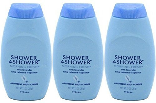 Powder Shower Shower Body (Shower To Shower Powder Morning Fresh With Lavender 1 Ounce Travel Size (Pack of 3))
