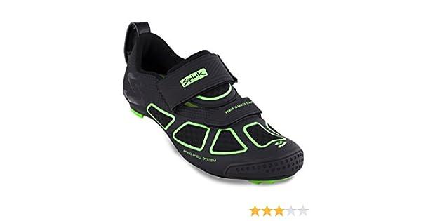 Spiuk Zapatillas Triatlon Trivium Negro/Verde: Amazon.es: Deportes y aire libre