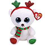 Ty Beanies Claire s Girl s Boo Large Frost The Christmas Bear Soft Toy c64484ac8fb6