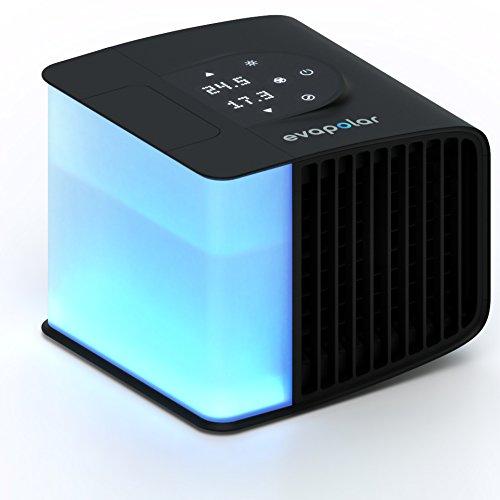 Evapolar EvaSMART Personal Evaporative Air Cooler and Humidifier and Portable Air Conditioner EV-3000 - Coal Black