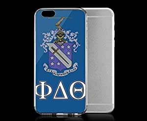 Light weight with strong PC plastic case for Iphone 6 Sports & Collegiate Fraternities & Sororities Phi Delta Theta Phi Delta Theta