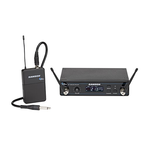 Samson Concert 99 Guitar Wireless System with GC32 Guitar Cable (K Band) by Samson Technologies