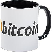 CafePress - Mug With The Bitcoin Logo And Name - Unique Coffee Mug, Coffee Cup