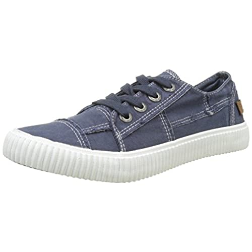 Blowfish Cablee Navy Washed Canvas (Textile) Womens