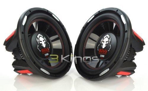 Pair BOSS Audio P126DVC Phantom 12 4600W Car Power Subwoofers