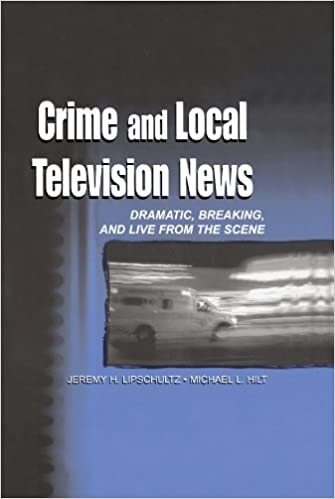 crime and local television news dramatic breaking and live from
