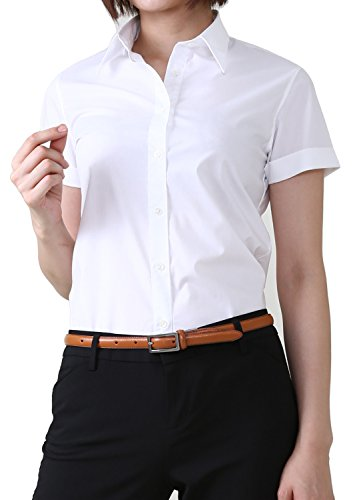 Top 10 Non-Iron Short Sleeve Women's Shirts for Work 2019-2020 - cover