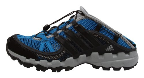 Adidas Hydroterra Shandal Herren Outdoor Schuhe Sandalen Step Down  Construction Gelände Trekking Hiking Wandern Männer Blau Schwarz Größe 48  UK 12.5: ...