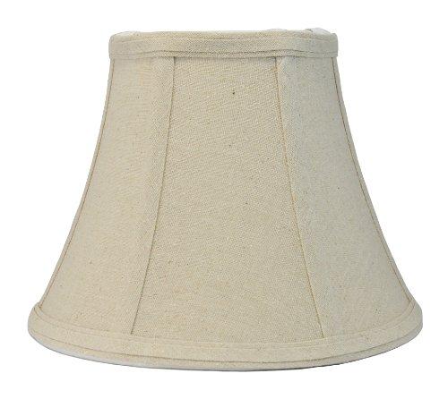 "Urbanest Softback Bell Lampshade, Natural Linen, 5x9x7"", Spi"