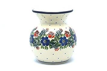 Polish Pottery Bubble Vase – Garden Party