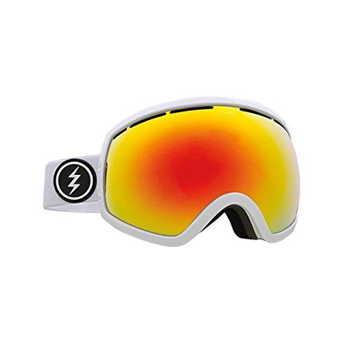 - Electric - Mens EG2 Snow Goggles 2018, Gloss White Brose/Red Chrome