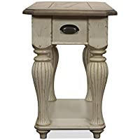 Coventry Two Tone 15.5 in. Chairside Table