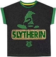 HARRY POTTER Girls Slytherin T-Shirt