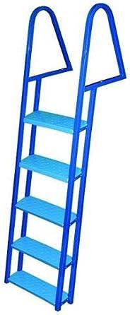 JIF MARINE FDQ5-PC 5-Step Dock Ladder Blue Powder Coated