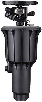 MASUNN Cabezal de pulverización emergente Rociador Boquilla de nebulización Jardín de césped Sistema de nebulización de riego giratorio automático: Amazon.es: Industria, empresas y ciencia