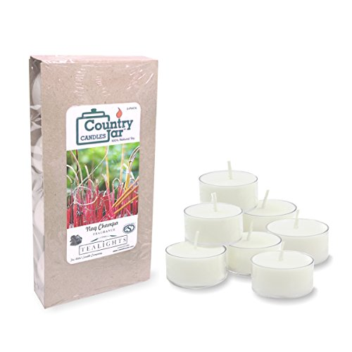 Country Jar NAG Champa Soy Tea Light Candles (8-Pack/.75 oz. ea.) Spring Pick-3 Sale! See Details.