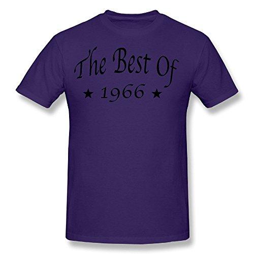 Men's The Best Of 1966 T Shirt Purple