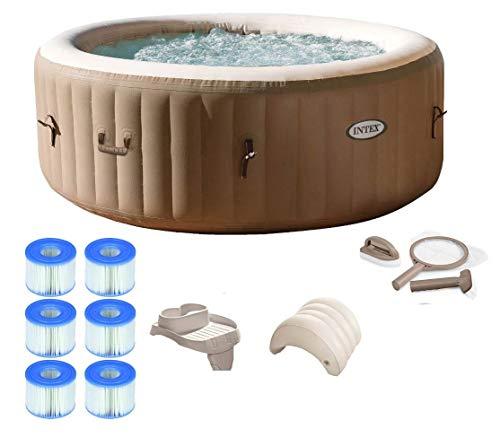Amazon.com: Intex Pure Spa - Conjunto de bañera para 4 ...