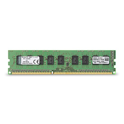 Kingston Technology 8GB DDR3 1600MHz PC3-12800 ECC DIMM Memory for Select HP/Compaq Desktops KTH-PL316E/8G
