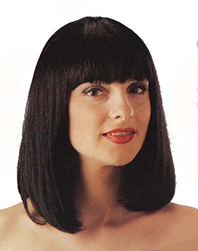 Fiction Uma Costume Pulp (Short Pulp Fiction Wig with Kanekalon fibers)