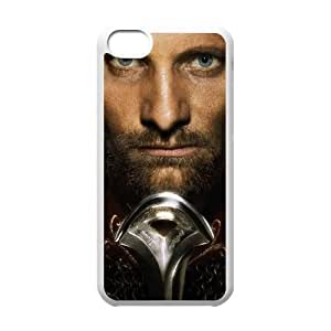 iPhone 5c White Cell Phone Case Lord of the Rings TXBY3427