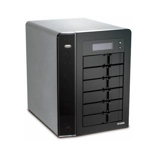 Price comparison product image D-Link ShareCenter Pro DNS-1250 Network Storage Server, Intel Atom D525, 2GB, 6-Bays, USB/LAN, Tower DNS-1250-06
