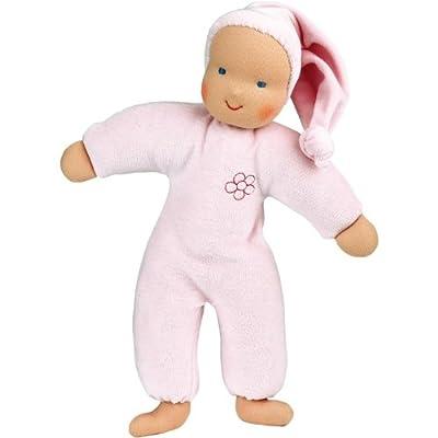 Kathe Kruse Schatzi Plush Doll, Pink