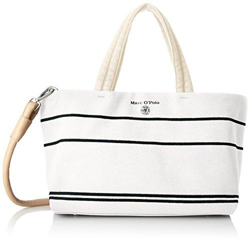 Marc O'Polo Ew Shopper, Borse a spalla Donna Bianco (Offwhite)