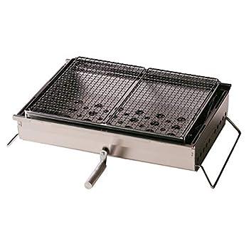 Image of Snow Peak Iron Grill Table BBQ Box, Large