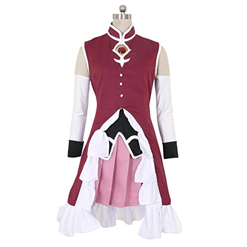CG Costume Women's Puella Magi Madoka Magica Kyoko Sakura Dress Cosplay Costume (Magi Costumes)