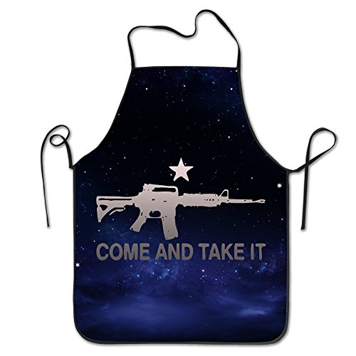 AR-15 Come And Take It Commercial Grade Aprons Limited Edition Screen Print Funny Aprons