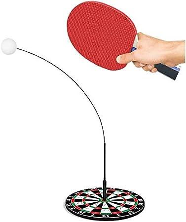 BBGSFDC Ping Pong Deportes Juguete for Herramientas Cubierta Tabla Outdoorplay la práctica de Tenis Conjunto de Ping-Pong de formación